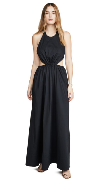 STAUD Apfel Dress in black