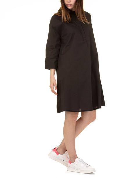 Woolrich W's Popeline A-line Dress in black