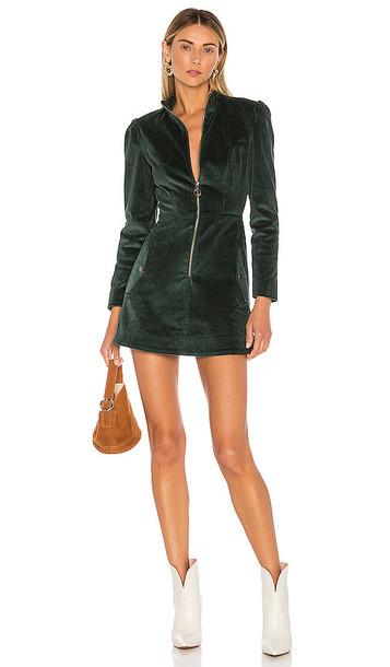 Tularosa Noah Dress in Green