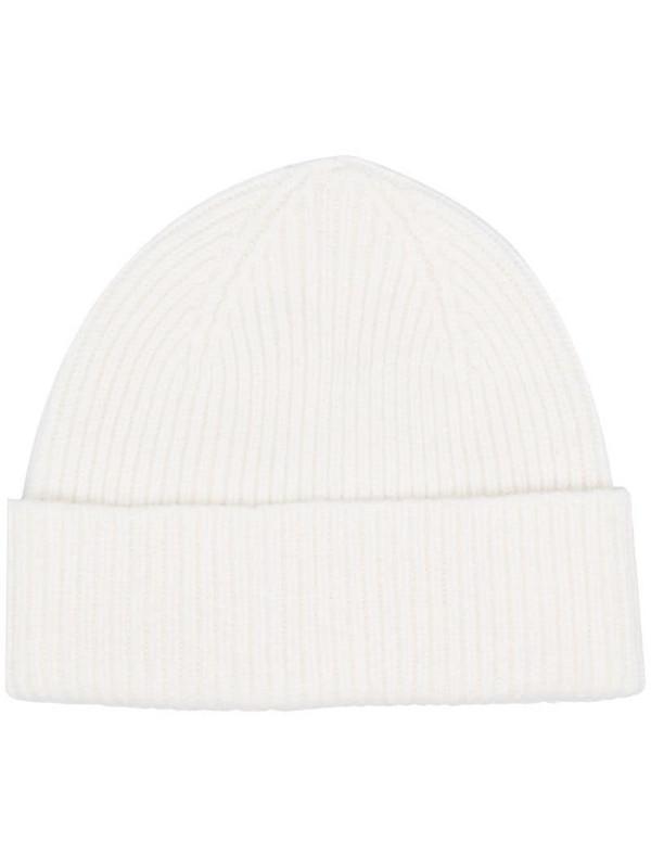 Le Bonnet rib-knit beanie hat in neutrals