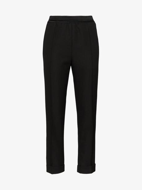 Haider Ackermann slim-leg trousers in black