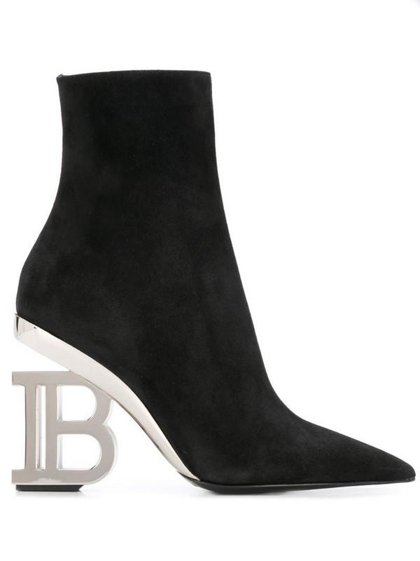 Balmain Nicole ankle boots in black