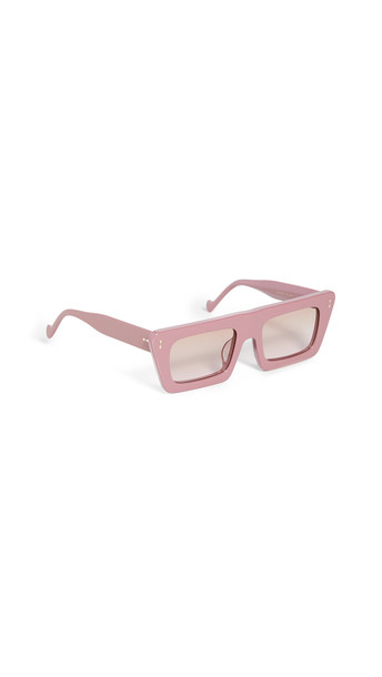 Zimmermann Carnaby Sunglasses in brown / pink
