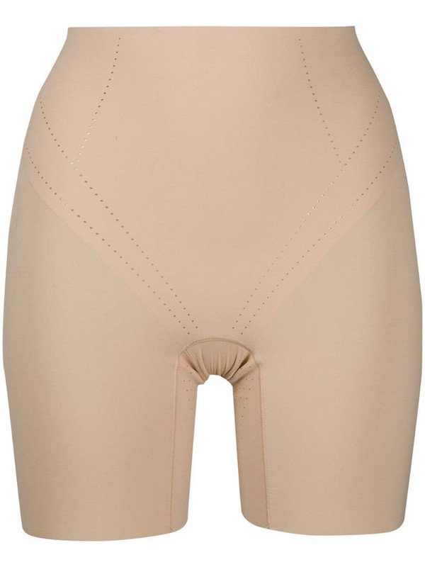Wacoal Shape Air breathable long leg control shorts in neutrals