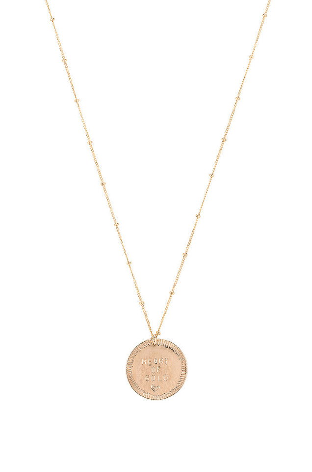 Paradigm Heart Of Gold Necklace