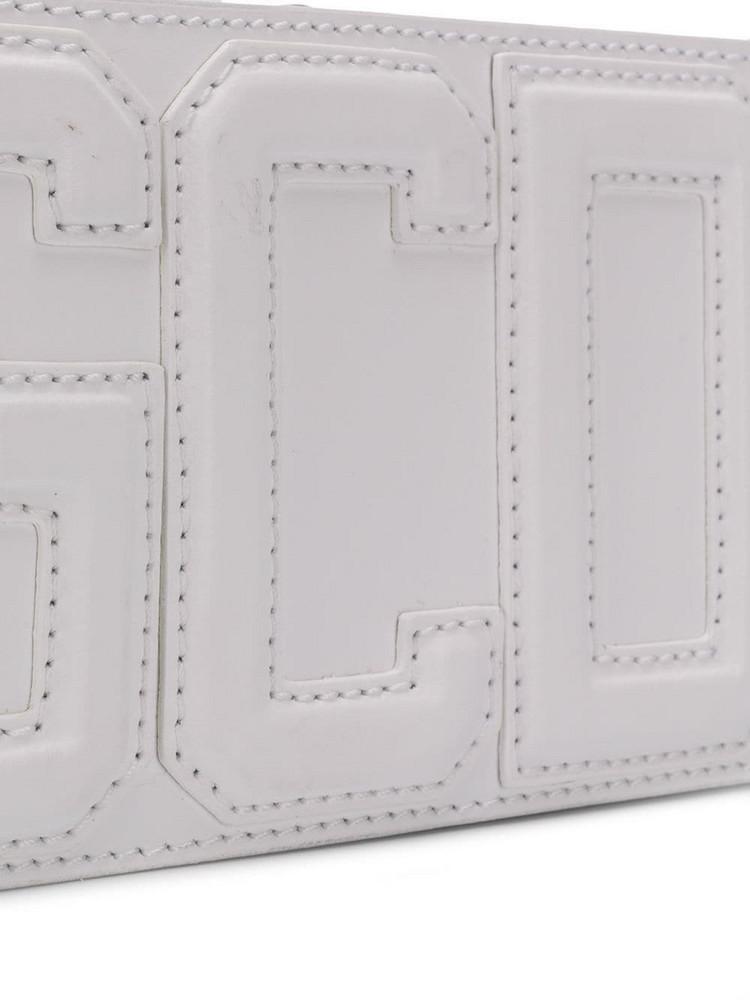 Gcds Logo Belt Bag in white