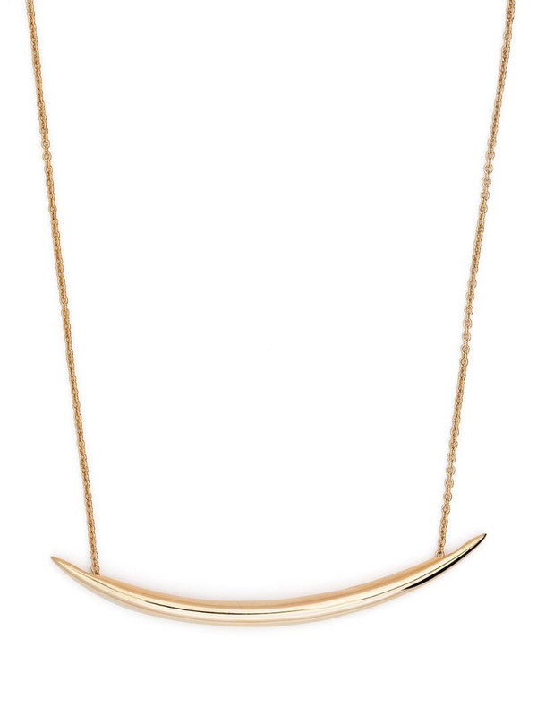 Shaun Leane Quill chain pendant necklace in gold