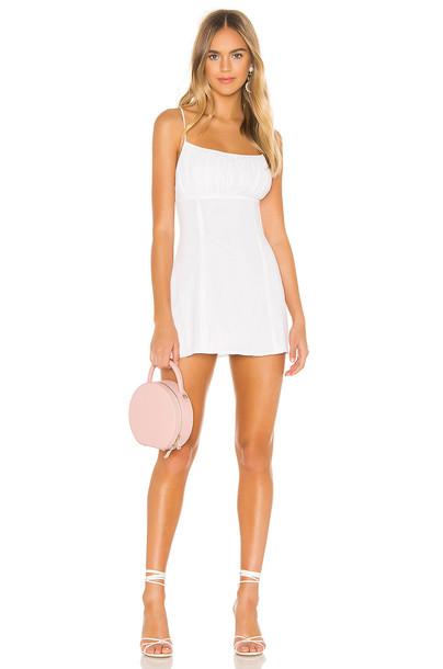 superdown Beverly Cami Dress in white