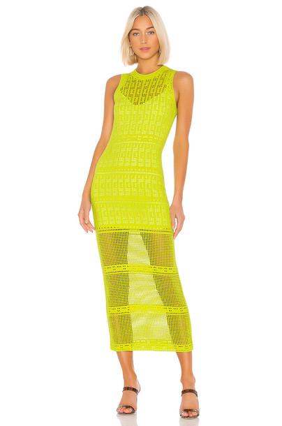 A.L.C. Monoghan Dress in green