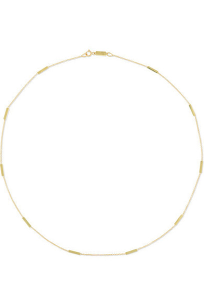 Jennifer Meyer - Bar-by-the-inch 18-karat Gold Necklace