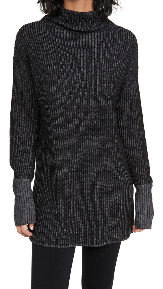 Varley Collins Sweatshirt in black / white