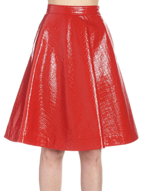 Msgm Skirt in red