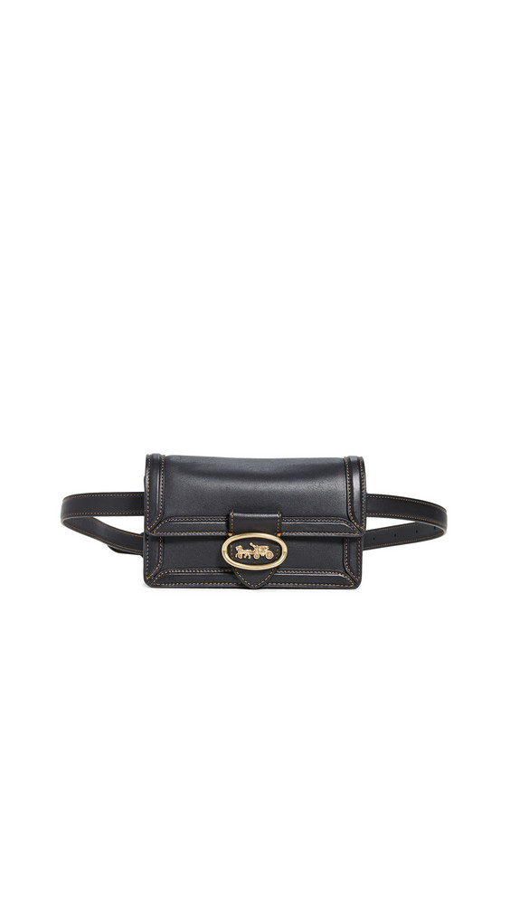 Coach 1941 Riley Convertible Belt Bag in black