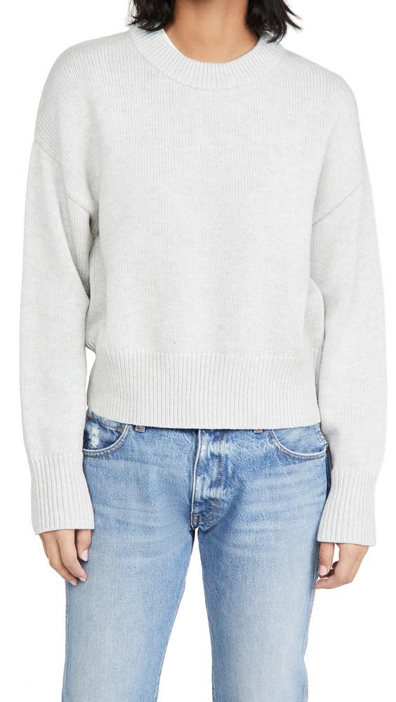Alex Mill Cozy Crew Neck Sweater in grey / silver