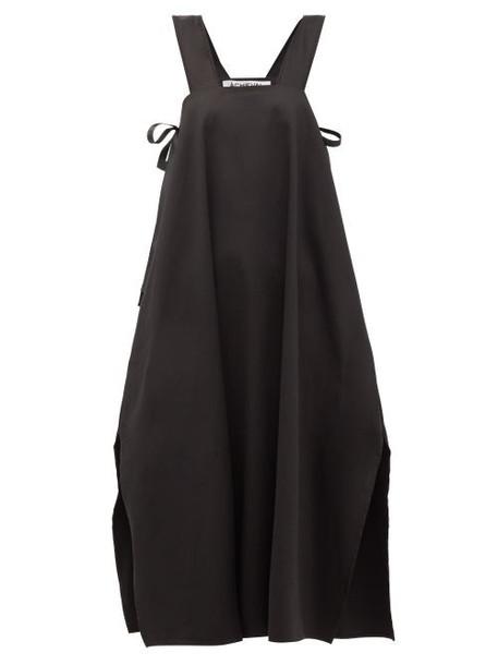Àcheval Pampa Àcheval Pampa - Samba Side-tie Cotton-blend Dress - Womens - Black