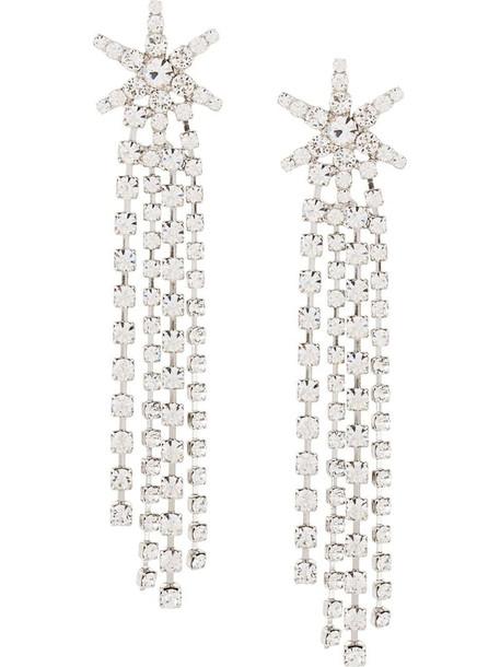 Jennifer Behr Esta crystal earrings in silver