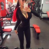 jumpsuit,tight,black,bodycon,zip,romper