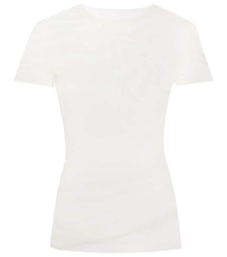 Maison Margiela Tulle top in white