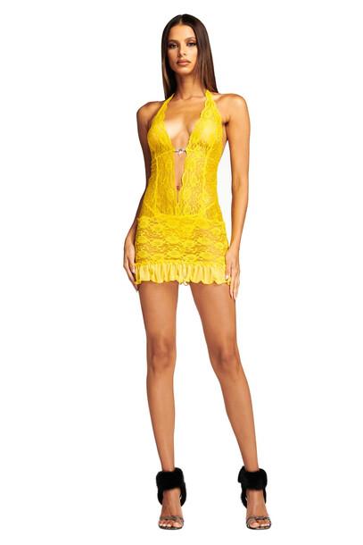 I Am Gia VIOLETTA DRESS- YELLOW