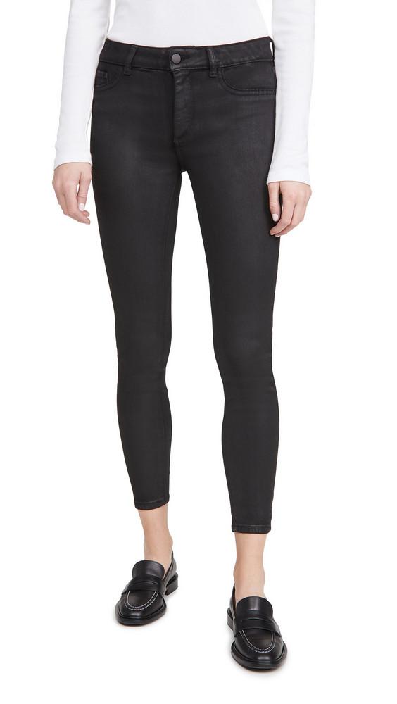 DL DL1961 Florence Ankle Mid Rise Skinny Jeans
