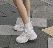 shoes,white,sneakers,korean fashion,trainer