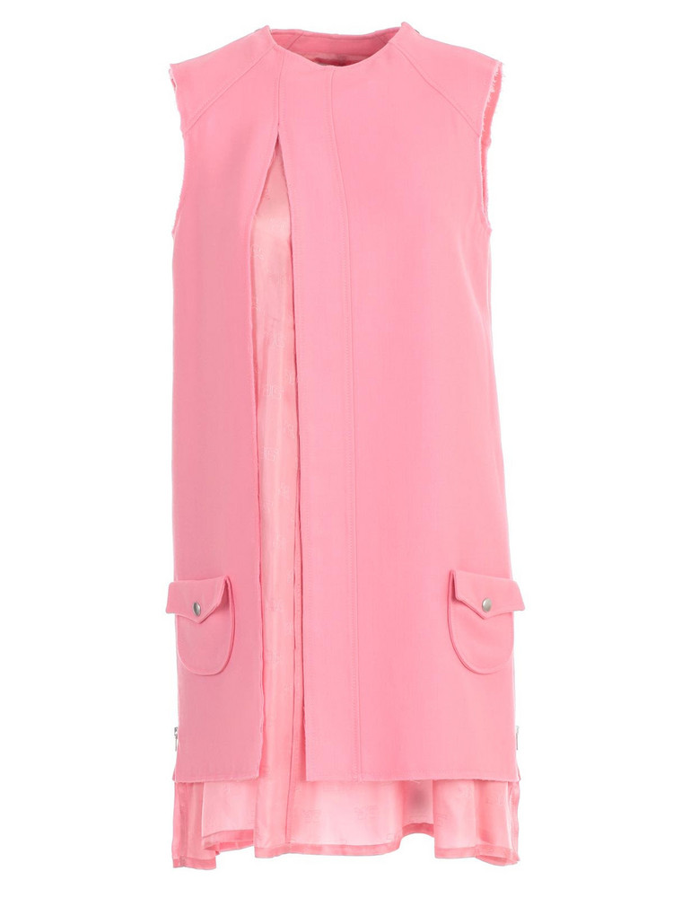 Courrèges Courreges Layered Shift Dress in pink