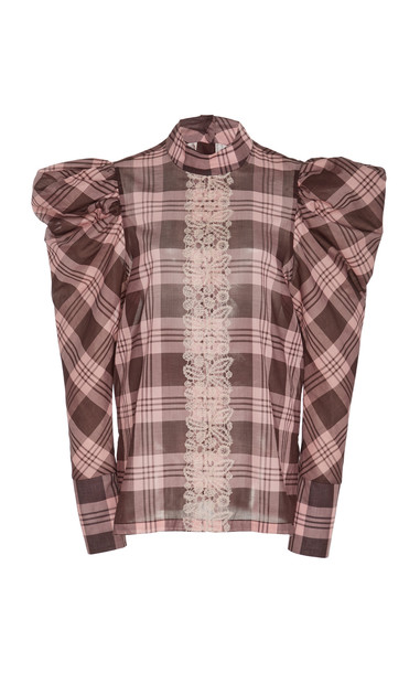 Silvia Tcherassi Drina Top Size: S in pink