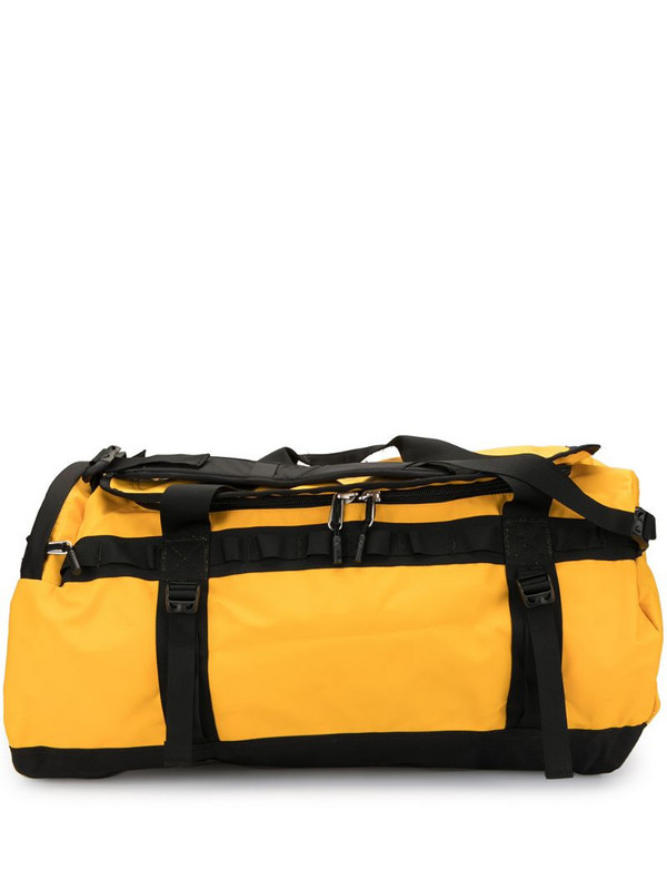 The North Face Base Camp 50L duffle bag in yellow