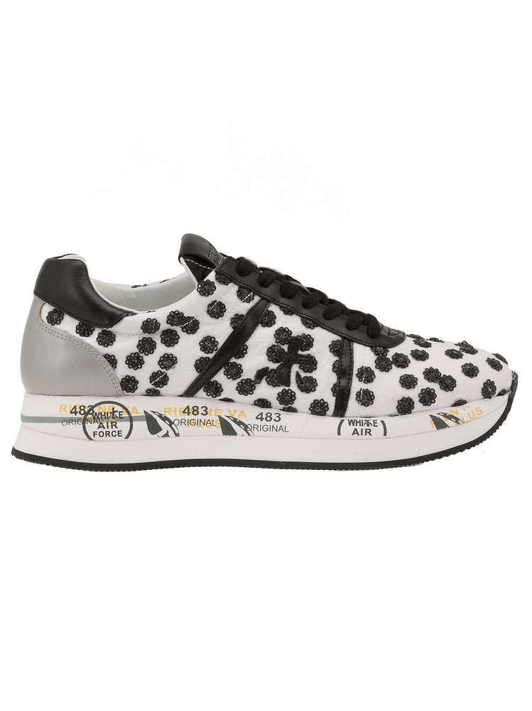 Premiata Conny Sneaker in black / white
