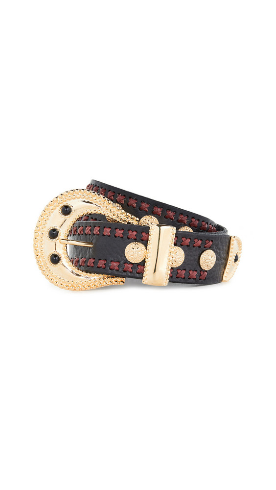 DODO BAR OR Loren Belt in black / gold