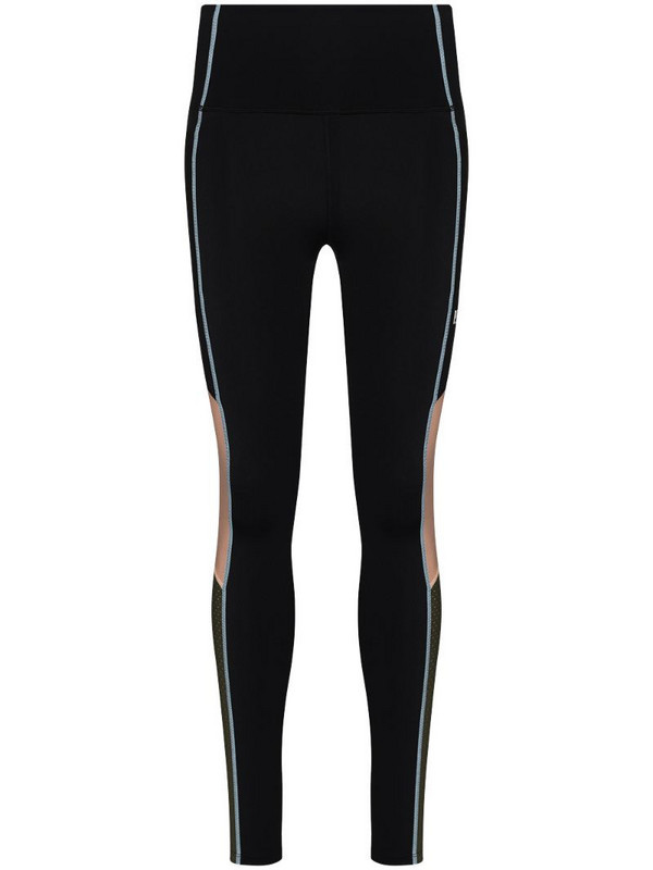 P.E Nation Fast Lane colour-block leggings in black