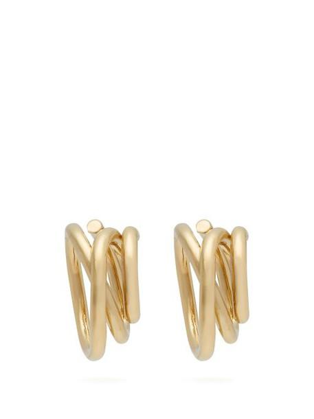 Completedworks - Flow Gold Vermeil Hoop Earrings - Womens - Gold