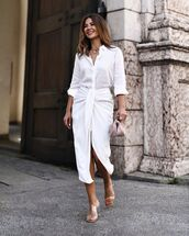 skirt,white skirt,wrap skirt,zara,sandal heels,white shirt