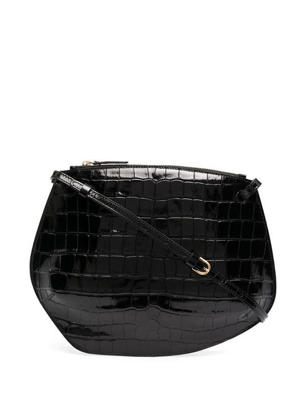 Little Liffner embossed crossbody bag in black