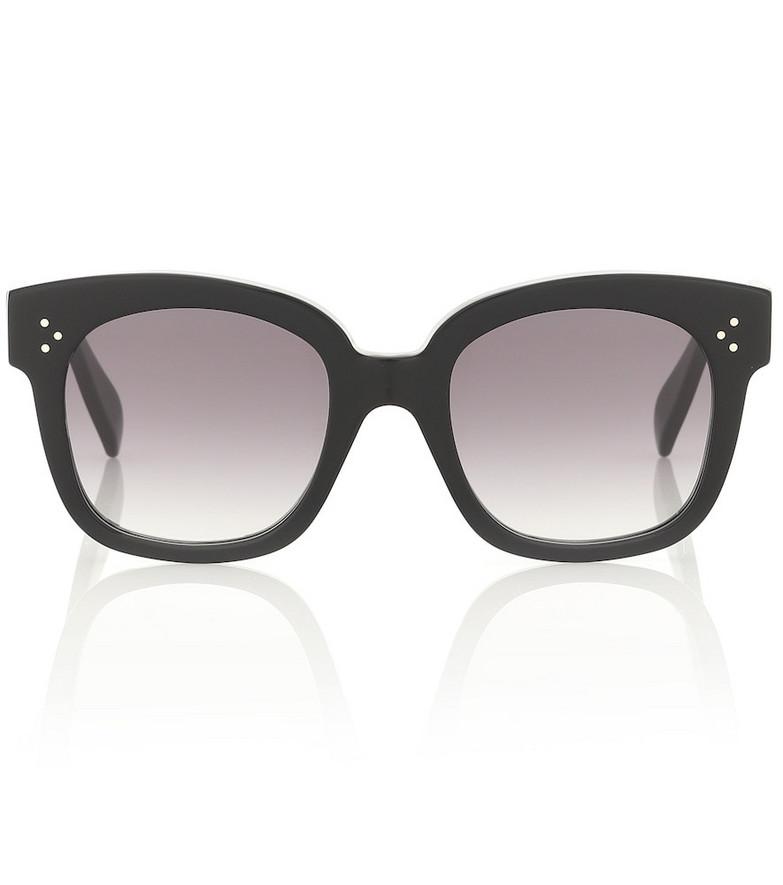 Celine Eyewear D-frame acetate sunglasses in black