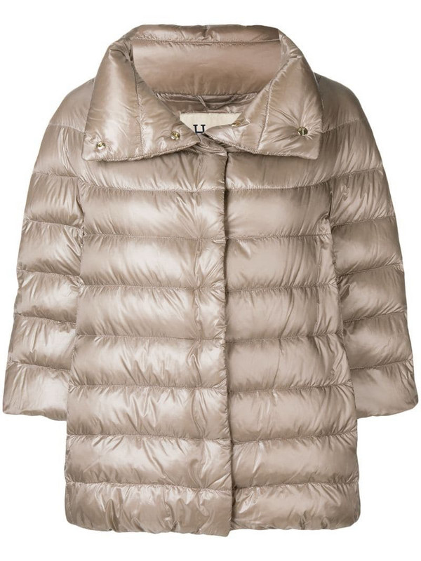 Herno Iconic Aminta jacket in neutrals
