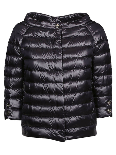 Herno Oversized Padded Jacket in nero