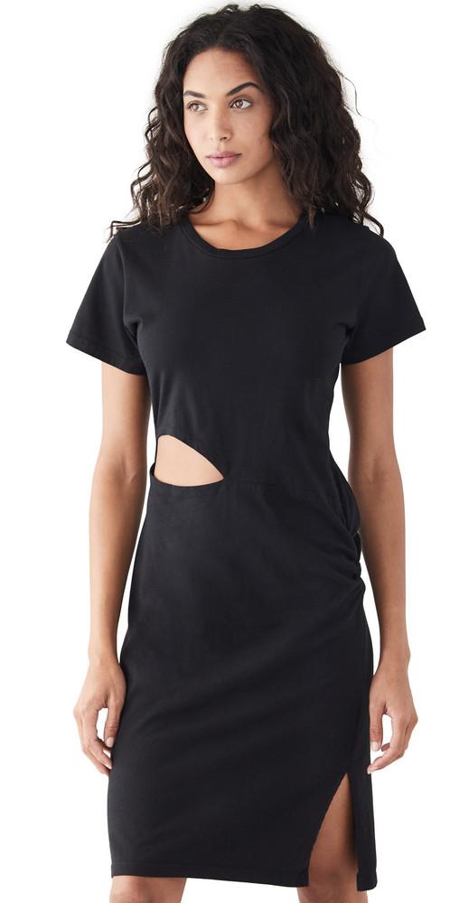LNA Alek Dress in black