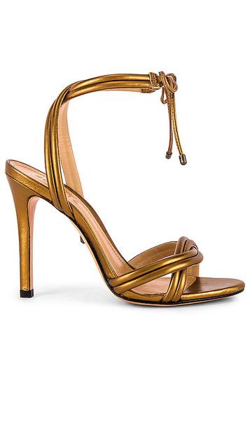 Schutz Yvi Heel in Metallic Bronze