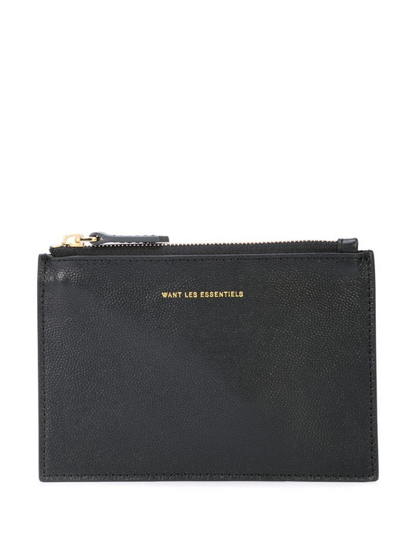 WANT Les Essentiels mini Lawrence zip pouch in black