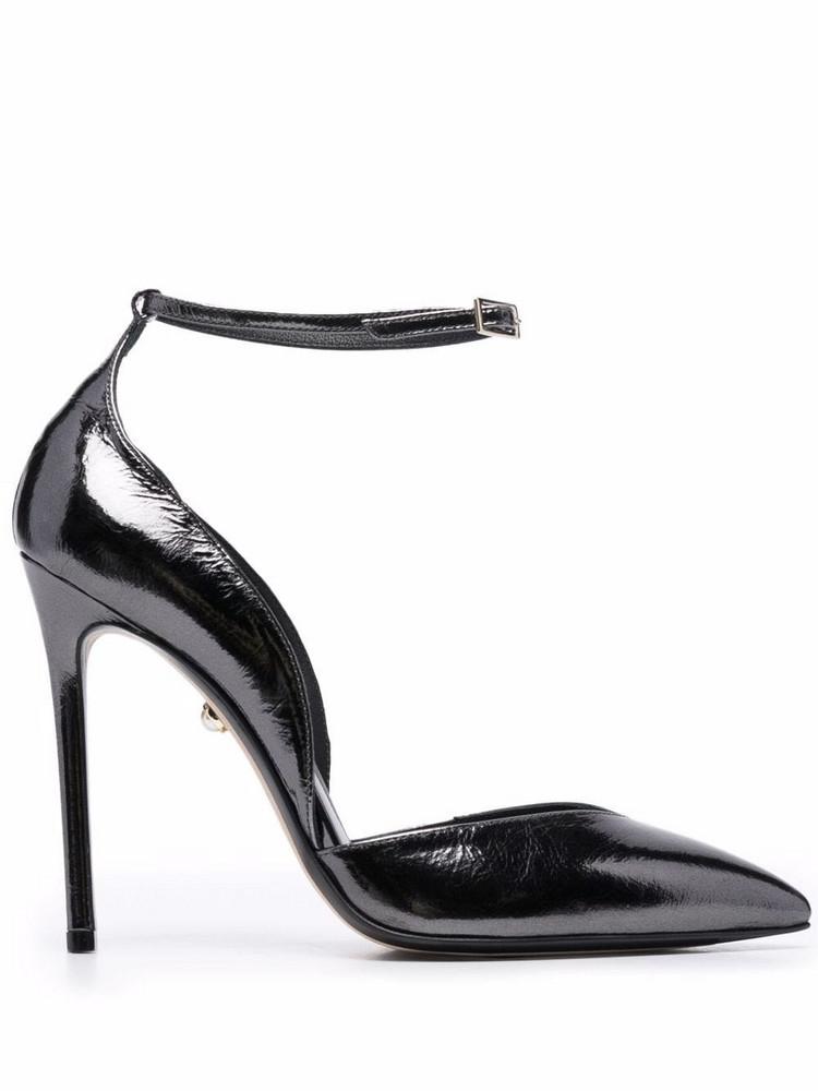 Alevì Alevì pointed leather pumps - Black