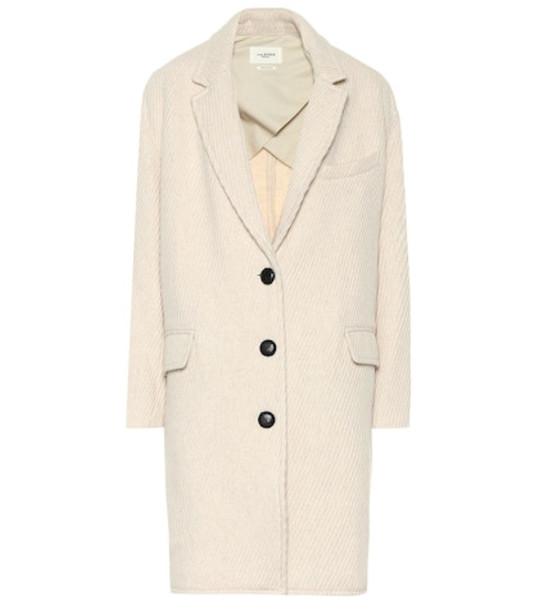 Isabel Marant, Étoile Wool-blend coat in beige / beige