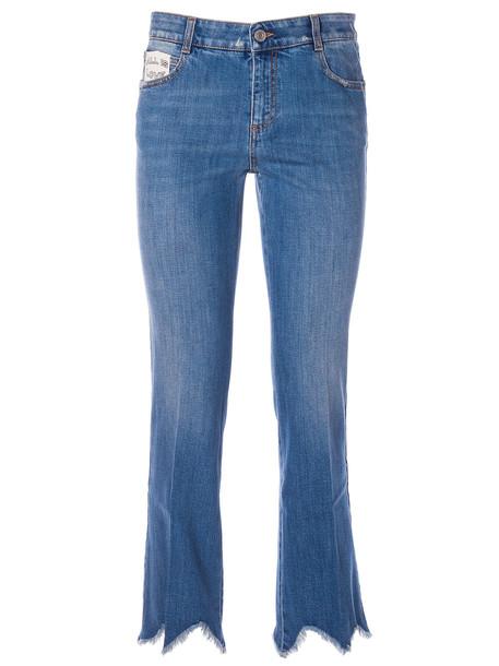 Stella Mccartney Cropped Jeans in blue