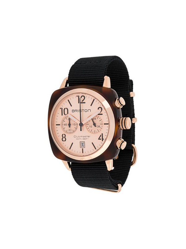 Briston Watches Clubmaster Classic 40mm watch in black