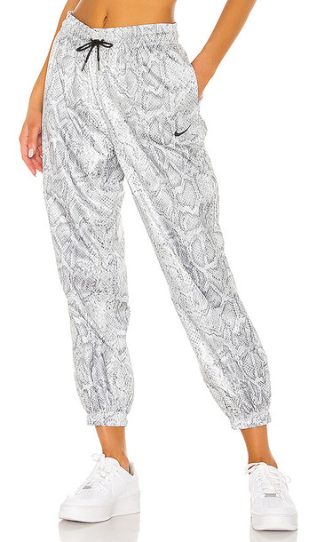 Nike Python Pant in Gray