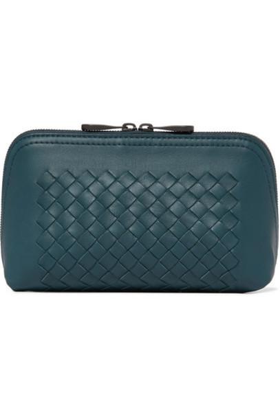 Bottega Veneta - Intrecciato Leather Pouch - Green