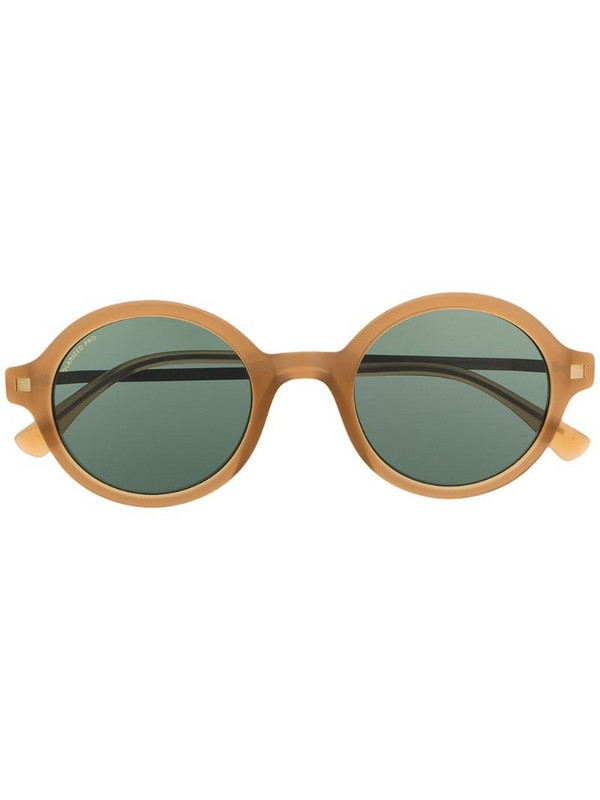 Mykita Esbo round-frame sunglasses in neutrals