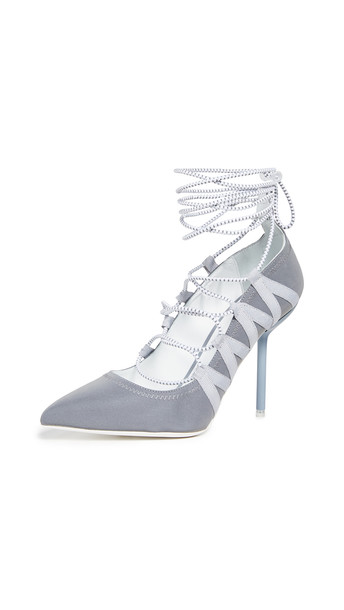 Unravel Project Stiletto Pumps in grey