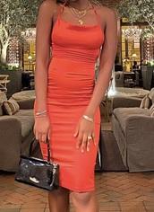 dress,red dress,red,pretty,graduation dress,midi dress,fancy,elegant