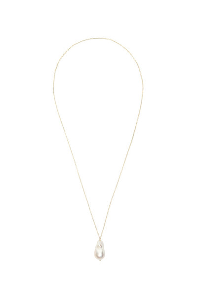 Timeless Pearly Necklace With Pearl in white